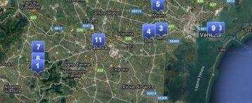 Casi Sars Cov 2 positivi in Veneto aggiornati al 10 marzo 2020 ore 7.30 suddivisi per residenza e ricoveri
