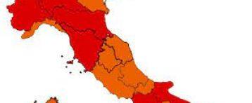 L'altalena dei colori e adesso tutta l'Italia vira verso l'arancione. Migliora l'incidenza dei contagi ma con pochi tamponi durante le feste. In rosso rimarrebbero solo due Regioni, Campania e Valle d'Aosta