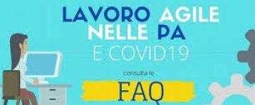 FAQ on line su lavoro agile, esenzione dal servizio e congedi. Sezione apposita della Funzione pubblica